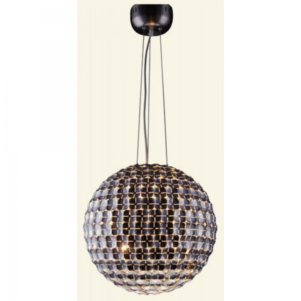 Contemporary Pendant Lamp - Silver