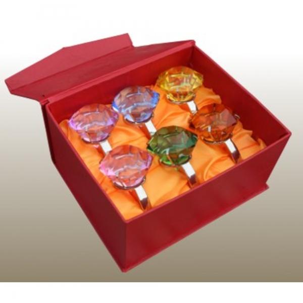 Giant ''Diamond Ring'' - Box - Set of 6