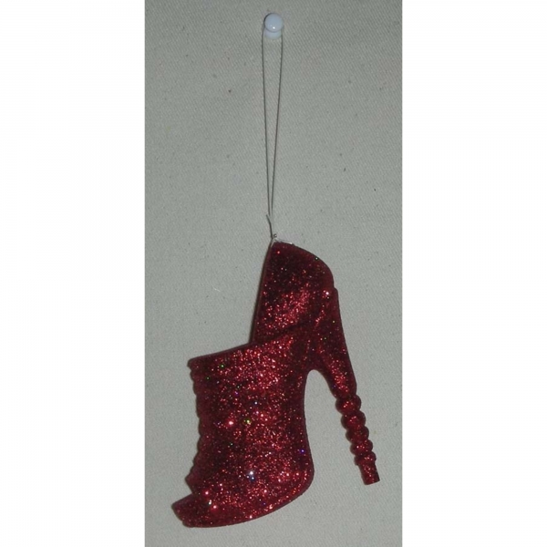 Sparkly Red shoe