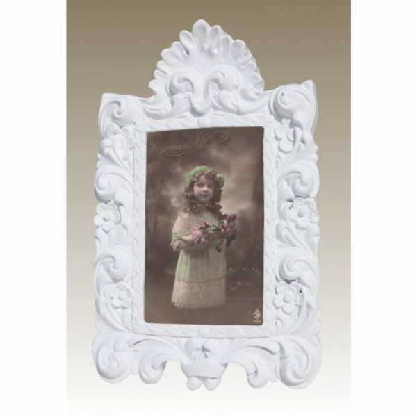 White Clay paint  Photo Frame