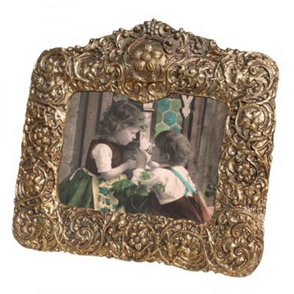 Gold Gilt Leaf landscape  Photo Frame