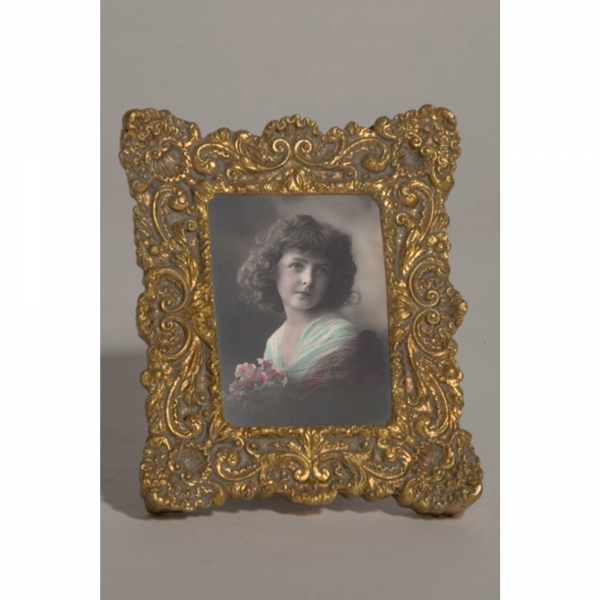 Gold Gilt Leaf Portrait  Photo Frame
