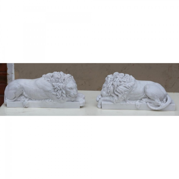Marbaline Classical Figure - Lions - pair