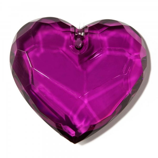 Decorative Heart - Purple