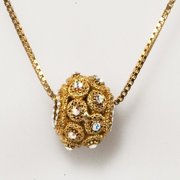 Crystal Small Whole Ball Necklace