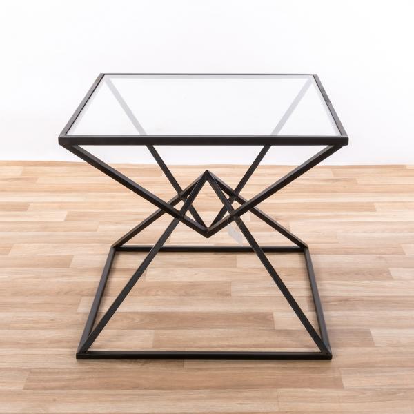 Gin Shu Metal Side Table - Black