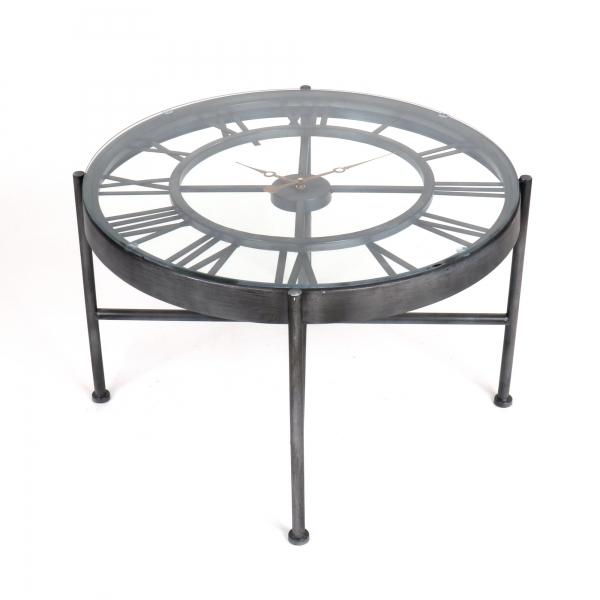 Gin Shu Metal Coffee Table - Black