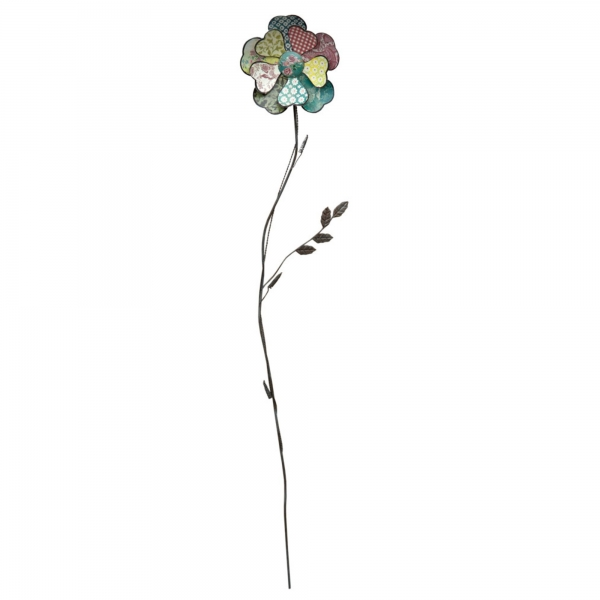 Vintage Primavera Metal Wall Art Flower