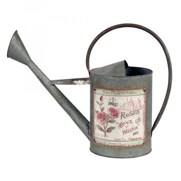 Vintage Primavera Metal Watering Can