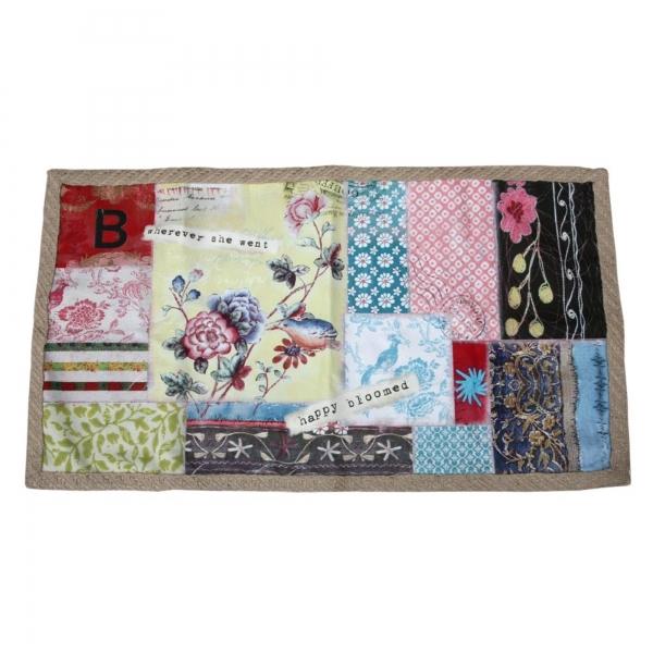 Vintage Primavera Patchwork Mat
