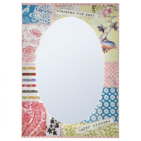 Vintage Primavera Mirror