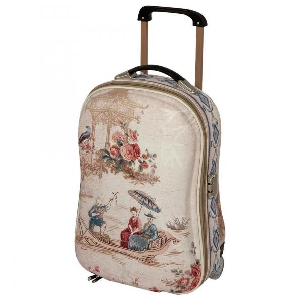 Vintage Primavera Overnight Bag on Wheels