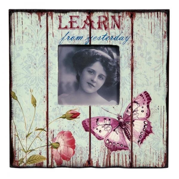 Vintage Primavera Wood Picture Frame Learn