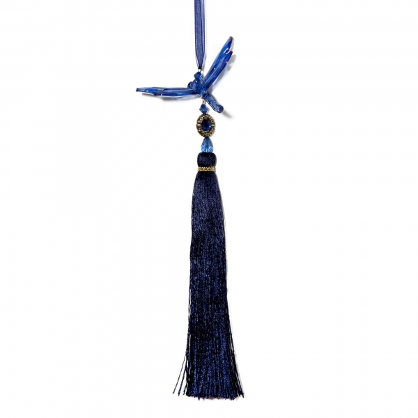 Blue Dragonfly with Tassel