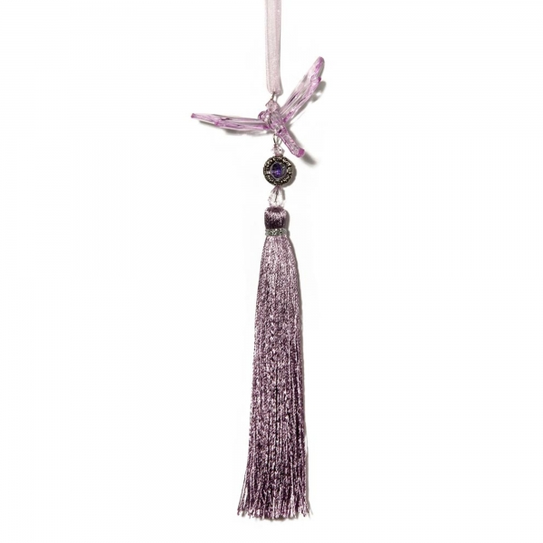 Lilac Dragonfly with Tassel