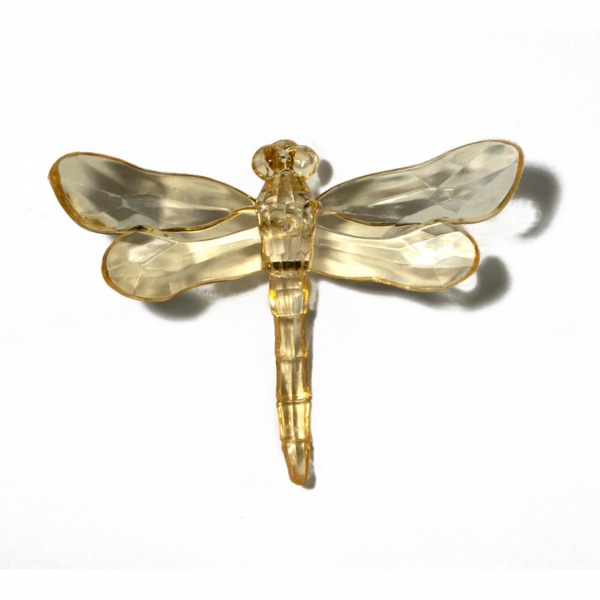 Gold Dragonfly with Spike