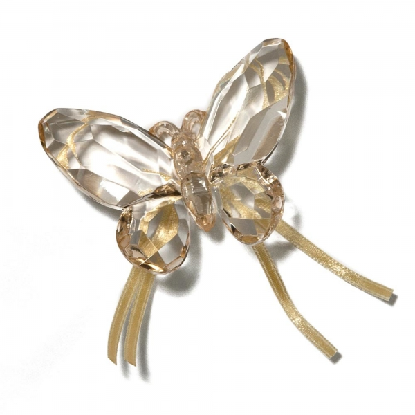 Honey Butterfly with Ribbon