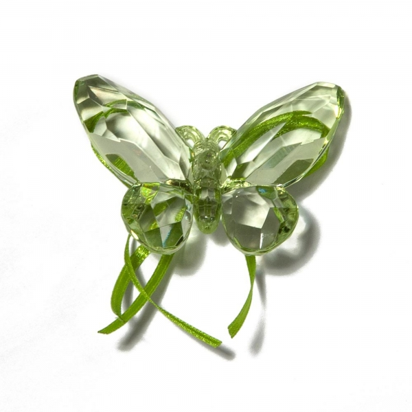 Mint Green Butterfly with Ribbon