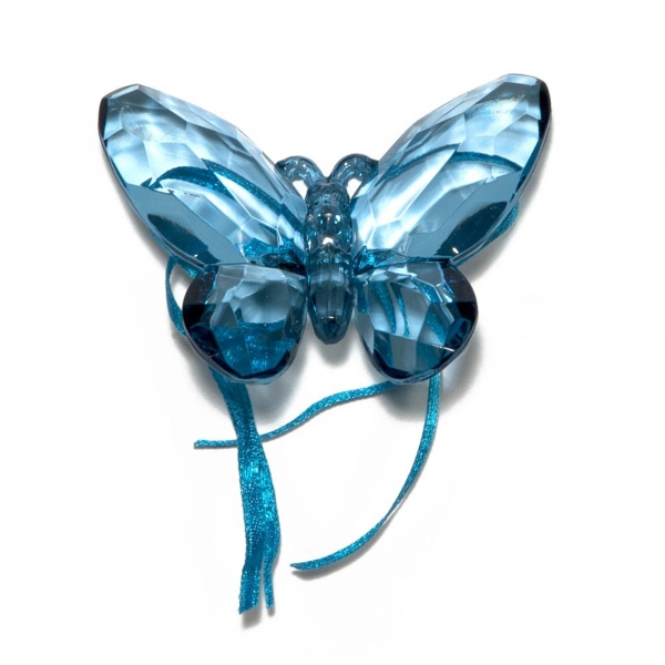 Turkish Blue Butterfly with Ribbon