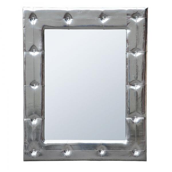 High Gloss Mirror - Silver
