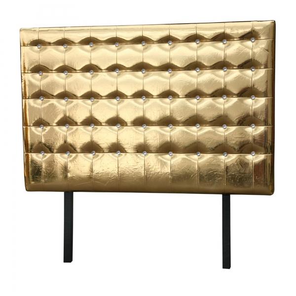 High Gloss Headboard - Gold