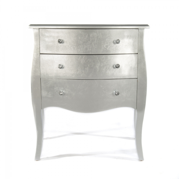 The Alchemist Chest of Drawers - Silver Gilt Leaf