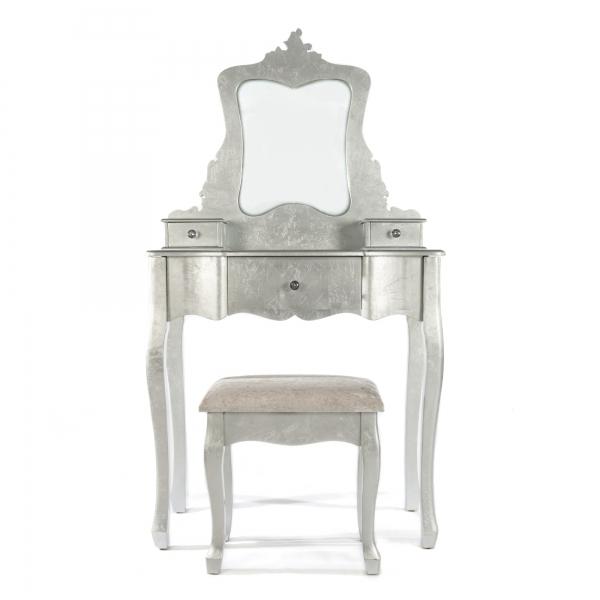 The Alchemist Dressing Table Set - Silver Gilt Leaf