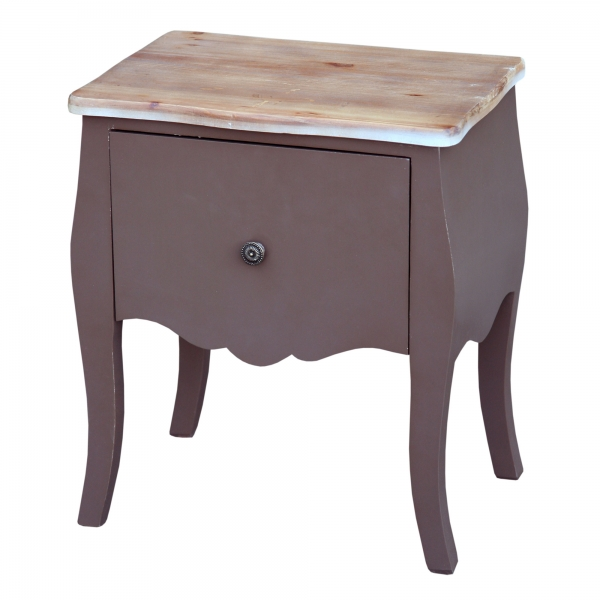 Transylvania Bedside Table - Brown