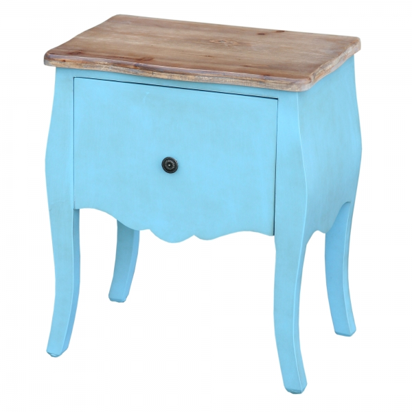 Transylvania Bedside Table - Blue