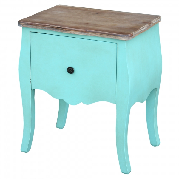 Transylvania Bedside Table - Green
