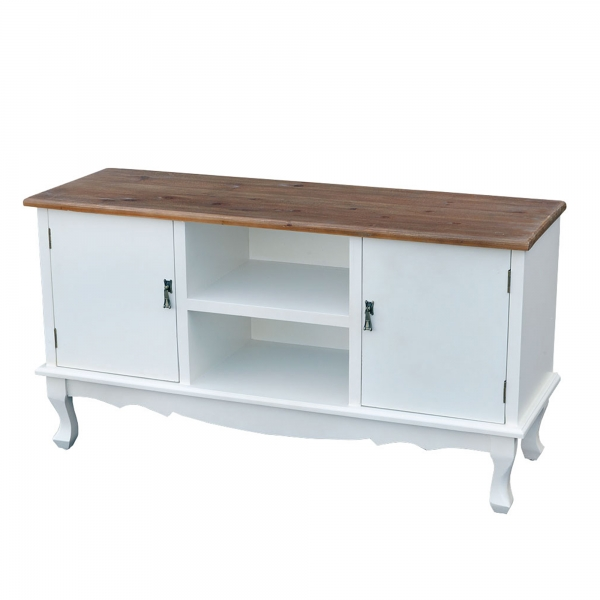 Transylvania TV Media Unit - Antique White