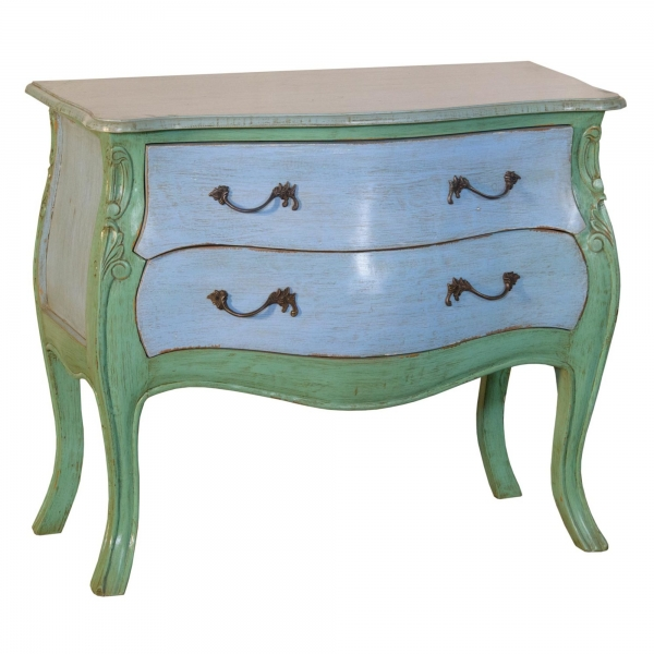 Chest of Drawers - Green and Blue