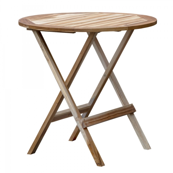 t - round  folding table
