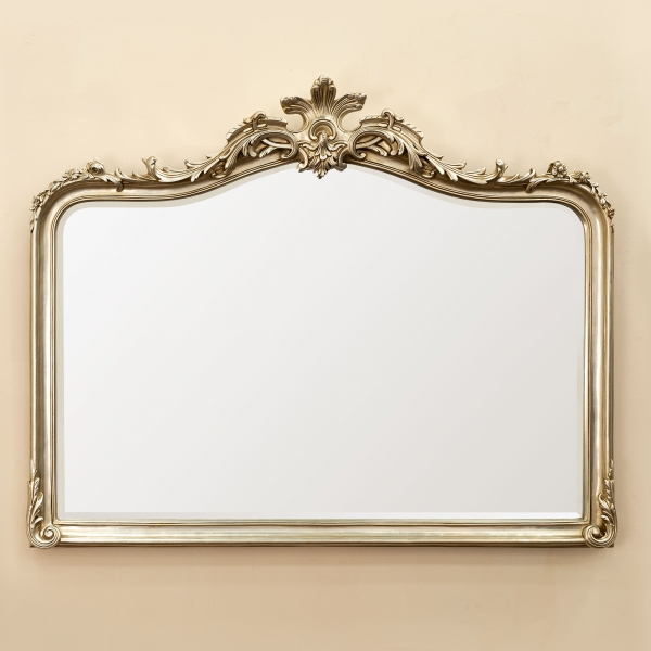Patrica Champagne Overmantle Mirror