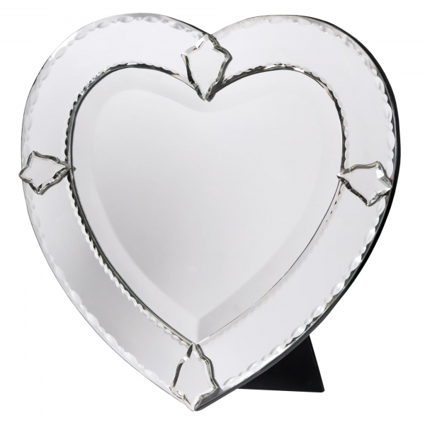 Venetian Heart Table Mirror
