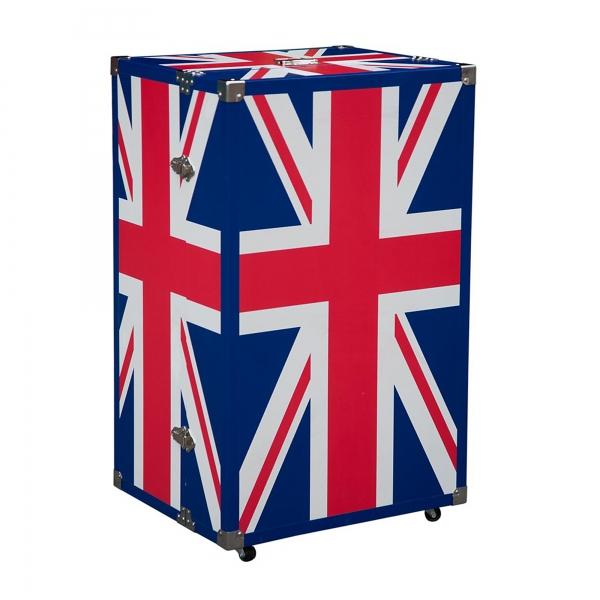 Union Jack Luggage Trunk