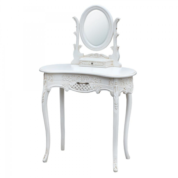Dressing Table - Antique White