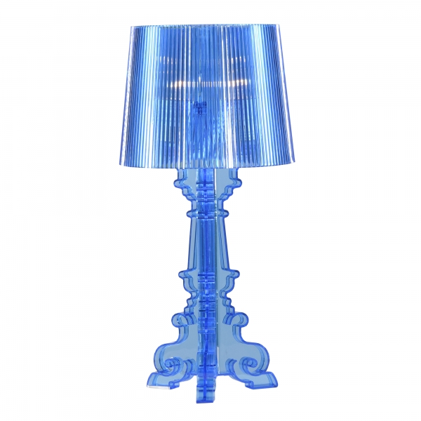 Nouveau Small Acrylic Table Lamp - Blue