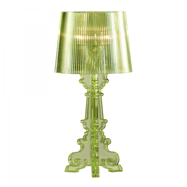 Nouveau Small Acrylic Table Lamp - Green