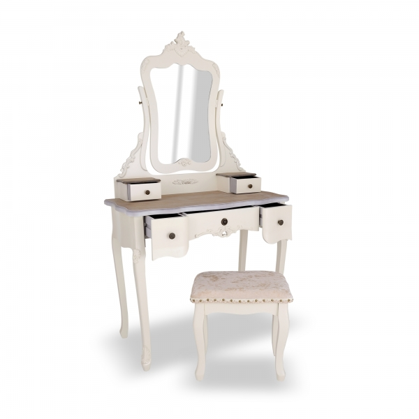 Appleby Dressing Table Set - White
