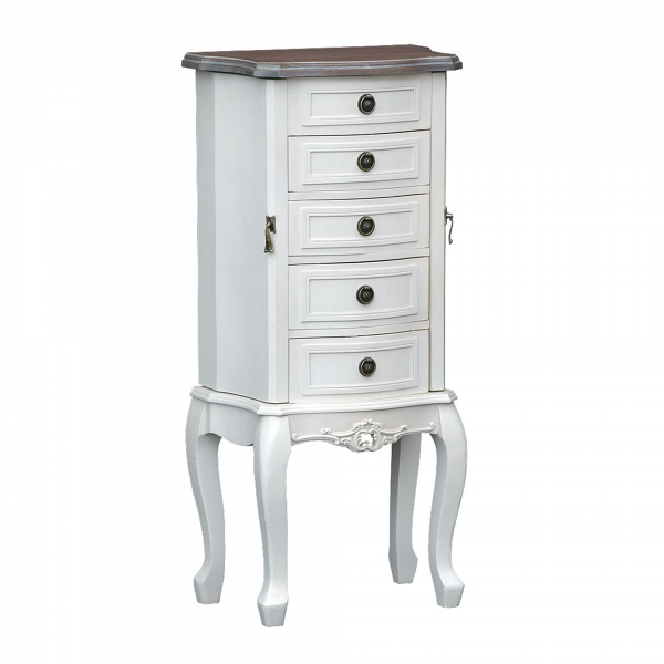 Appleby Jewellery Vanity Cabinet - White