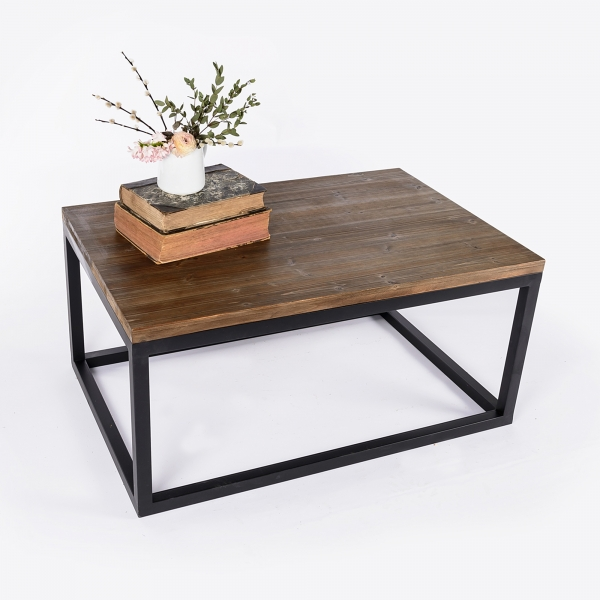 Labyrinth Coffee Table - Brown