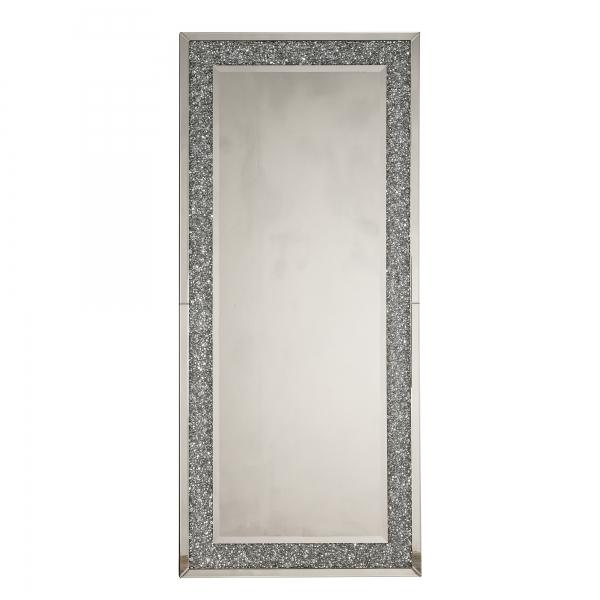 Crushed Diamond Floor Mirror