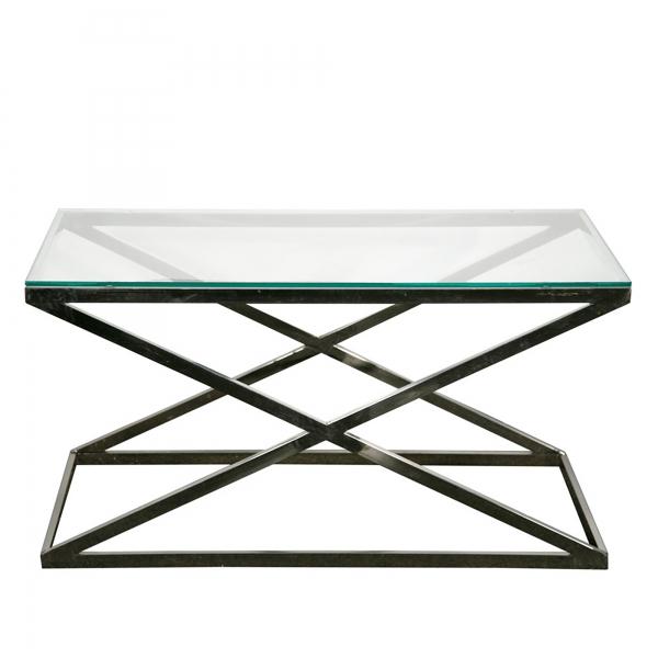 Venetian Glass Table - Silver