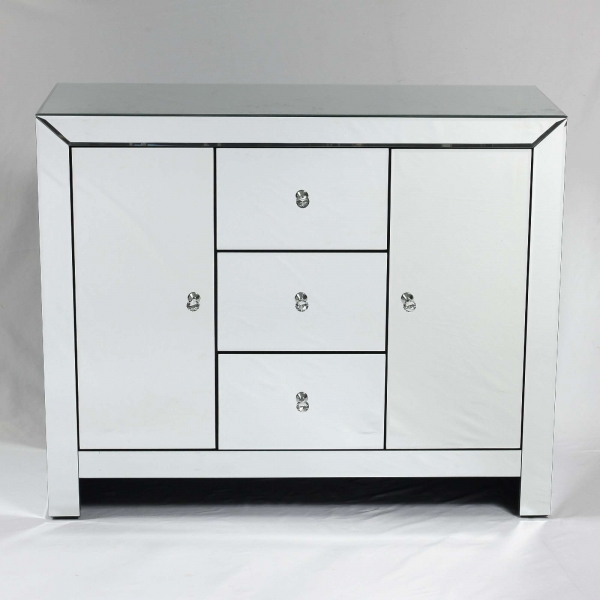 Mirrored Side Cabinet