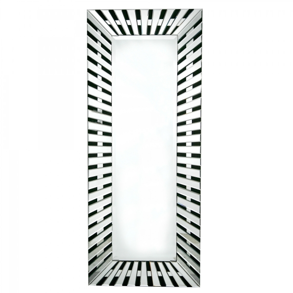 Contemporary Shards Venetian Tall Full Length Multifaceted Mirror