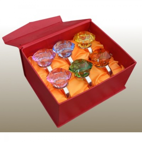 Giant ''Diamond Ring'' - Box - Set of 6