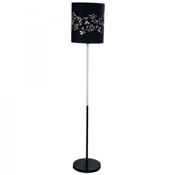 Contemporary Floor Lamp - Black