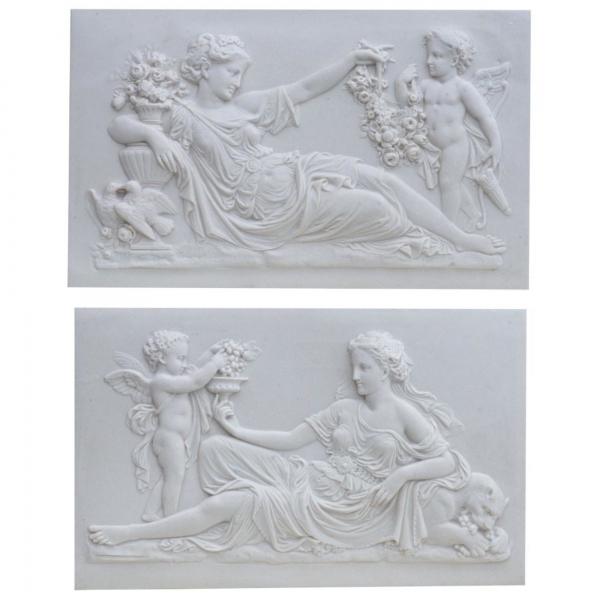 Marbaline Classical Plaques - Ladies - pair
