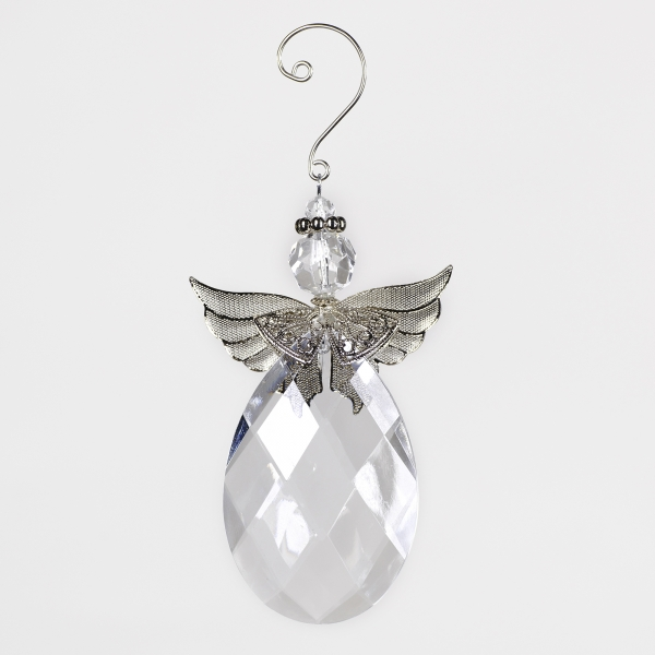 Decorative Accessories Angel Clear Acrylic with Silver